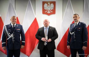 DEA Country Attaché in Poland awarded with a medal for his merits to the Polish Police
