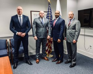 Polish Police delegation visited the DEA (Drug Enforcement Administration) Headquarters in the USA